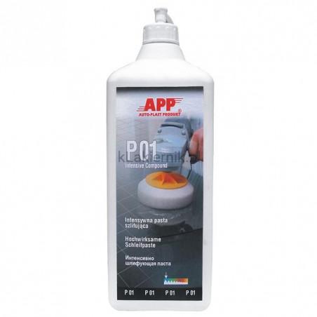 Pasta polerska APP 081296 intensywnie ścierna P01 - 7600 g