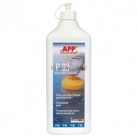 Pasta polerska APP 081301 gruboziarnista P03 - 600 g