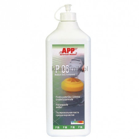 Pasta polerska APP 081310 średnioziarnista P06 - 500 ml
