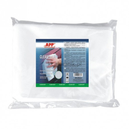 Ściereczki polerskie APP 090421 bezpyłowe CLEAN-SOFT 20 sztuk
