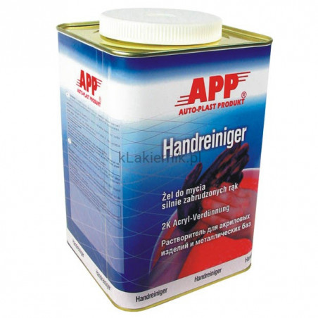 Żel APP 090200 do mycia silnie zabrudzonych rąk 4,5 L