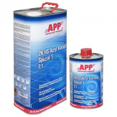 Lakier bezbarwny APP 020110 z efektem specjalnym 2:1 HS Acryl