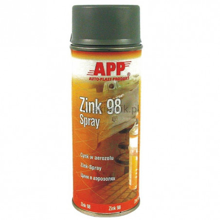 Cynk w aerozolu APP 210441 Zink 98 spray - 400 ml