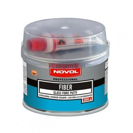 Szpachlówka z włóknem szklanym NOVOL FIBER - 200 g