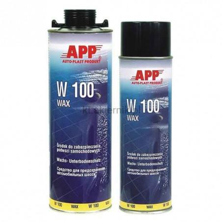 Masa woskowa APP 050501 do zabezpieczania podwozia W100 Wax