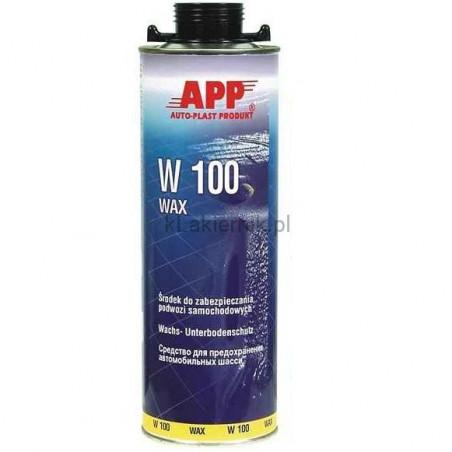 Masa woskowa APP 050502 do zabezpieczania podwozia W100 Wax 1 L
