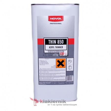 Rozcieńczalnik akrylowy NOVOL 32116 THIN 850 - 5 L
