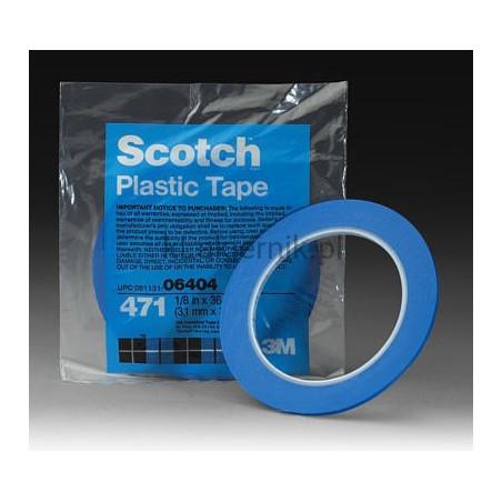 Taśma maskująca cienkoliniowa 3M 85611 - Vinyl Tape 471+ - 9,52