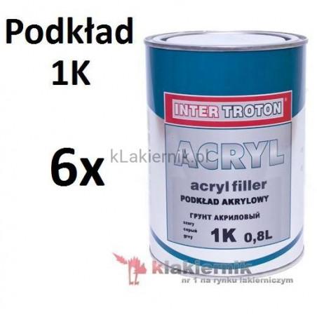 Podkład akrylowy TROTON - 1K - 0,8 L x 6