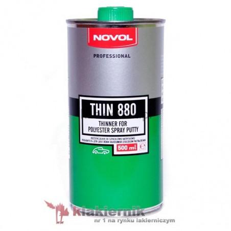 Rozcieńczalnik do szpachlówki natryskowej NOVOL THIN 880 - 0,5 L