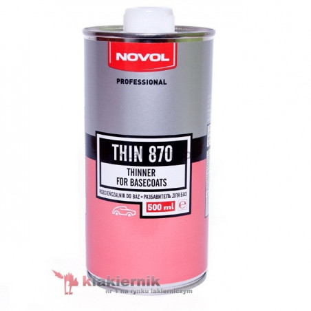 Rozcieńczalnik bazowy NOVOL THIN 870 - 0,5 L