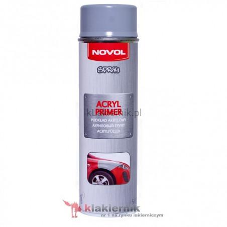 Podkład akrylowy 1K NOVOL spray - 500 ml