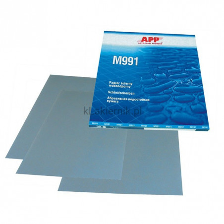 Papier ścierny wodoodporny APP MATADOR P1000 - 50 szt