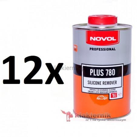 Zmywacz silikonu NOVOL PLUS 780 - 12 x 1 L