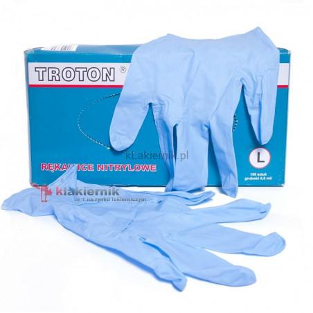 Rękawice nitrylowe TROTON - 1 para