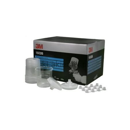 Zestaw Kubków 3M 16026 Standard PPS - 125 mikronów, 650 ml