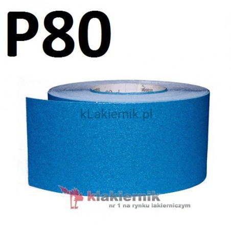 Papier ścierny SIA na sucho 115 mm - P 80