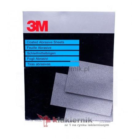 Papier ścierny wodny 3M - WETORDRY 734 (P400-P1200) - 25 arkuszy