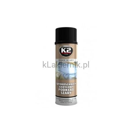 Podkład akrylowy K2 szybkoschnący szary - spray 500 ml